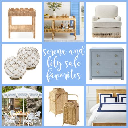 Summer decor ideas from the Serena and Lily sale!  #LTKsalealert #LTKstyletip #LTKhome http://liketk.it/3gfKg #liketkit @liketoknow.it
