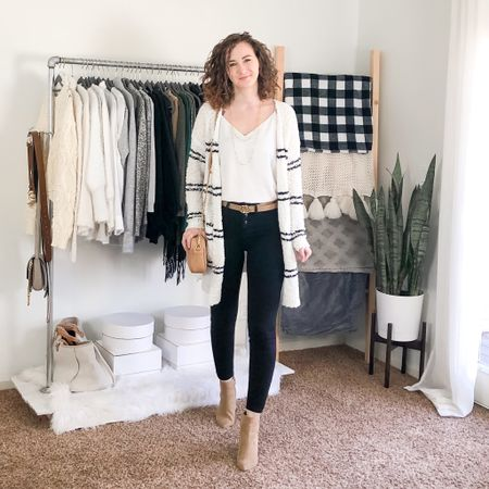 Clothes won't change the world, the women who wear them will! As much as I've enjoyed the daily comfies, I am excited to wear my normal clothes again. I changed out my closet this week to put my long sleeve spring tops on my floor rack and I'm itching to create new outfits!! 😍 http://liketk.it/2MDxH #liketkit @liketoknow.it