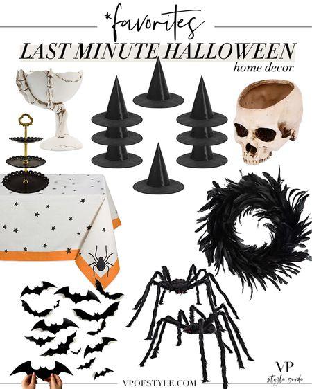 Favorite Halloween decor items available last minute    #LTKunder50 #LTKunder100 #LTKhome