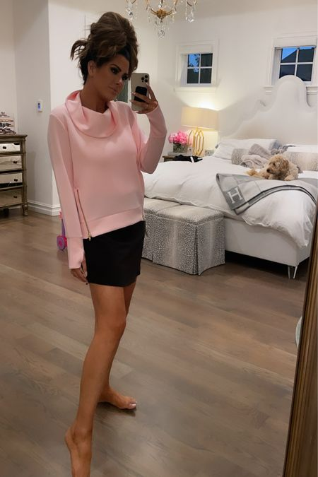 http://liketk.it/3ibjw #liketkit @liketoknow.it #LTKfit #LTKsalealert QVC, Addison bay, workout clothes, exercise, comfortable clothes, pullover, tank top, working tank, look for less, Emily Ann Gemma