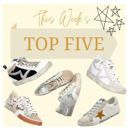 Fall is here! Bust out those favorite pair of denim, a cozy sweater, dress, blazer, you name it and pair it with these amazing sneakers! I feel like you can truly never have enough stylish sneakers in your fall wardrobe, they go with everything! #fall #fallstyle #sneakers #dupes #giannibini #stevemadden #dolcevita #goldengoose   #LTKshoecrush #LTKstyletip #LTKSeasonal