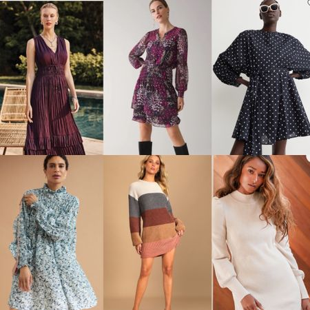 Looking for a fall dress? Here a few options for you 💖  #LTKunder100 #LTKSeasonal #LTKstyletip