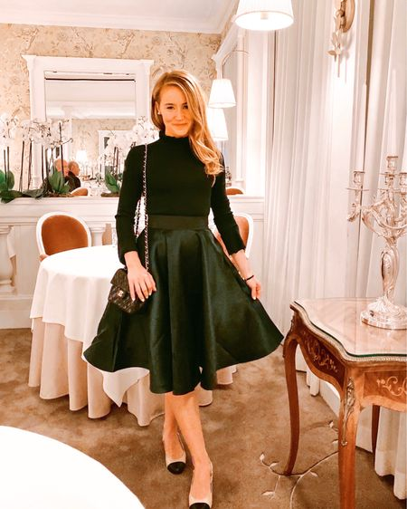 After an incredible, packed day in Paris with @adventuresbydisney (touring the Louvre, lunching at a Parisian bistro, a gourmet walking tour of Saint Germain to name a few) finally all dressed up for drinks then dinner! Sharing this magical night in my Instagram stories. It was one I will remember forever! Love how @adventuresbydisney incorporates free moments throughout the itinerary to adventure on your own. @lcbstyle and I can't stop talking about this night! Follow me on the LIKEtoKNOW.it shopping app to get the product details for this look and others http://liketk.it/2FIFM #liketkit @liketoknow.it