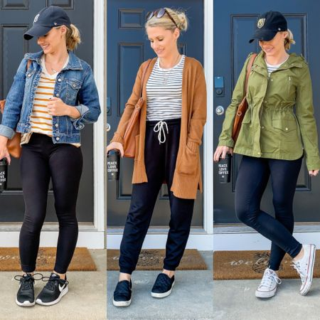 NEW BLOG POST    Today I am sharing 3 casual mom-friendly fall outfits! They are perfect for morning drop off, errand running or just lounging around the house. Head over to www.theiftywifehappylife.com [link in bio] to read more!  • • Shop my casual fall outfits here ➡️ http://liketk.it/2F3WZ Shop all my daily affordable looks by following me on the LIKEtoKNOW.it shopping app #liketkit @liketoknow.it #LTKunder50 #LTKstyletip