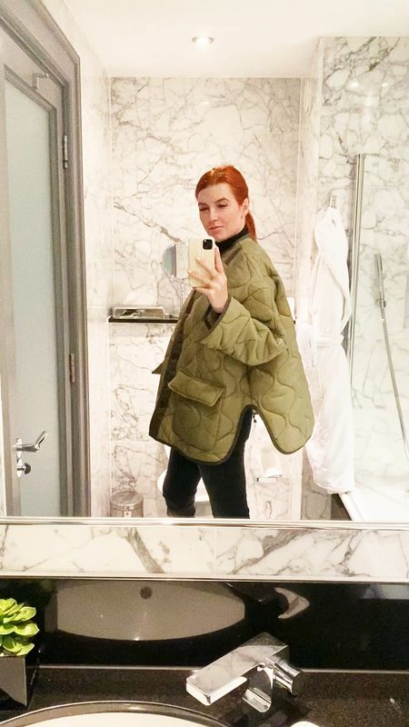So you can see it move - here is a spin in my new fall coat - the Frankie Jacket.   #LTKtravel #LTKworkwear #LTKeurope
