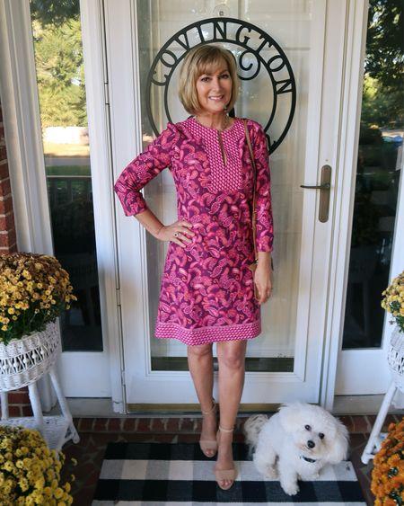 Loving this beautiful new fall dress from Cabana Life!! Blocks 98% of UVA and UVB rays so enjoy some time outside.   #LTKworkwear #LTKSeasonal #LTKtravel