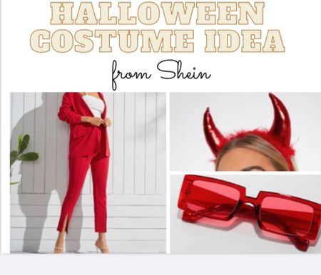here is the first of many Halloween costume ideas!🎃 this whole costume is from shein!   #LTKstyletip #LTKSeasonal #LTKfit
