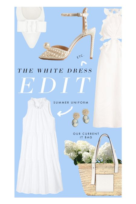 It's white dress season! Whether you're shopping for graduation, bridal showers, or just need a summer uniform, here are our favorites that will take you from Memorial Day to Labor Day and everywhere else in between!   #LTKhome #LTKwedding #LTKunder100
