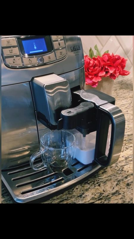 Come make a cappuccino with me!!             Espresso machine , espresso maker , gaggia , espresso mug , clear mug , amazon home , amazon kitchen , amazon finds , kitchen gadgets .   #LTKfamily #LTKhome #LTKeurope