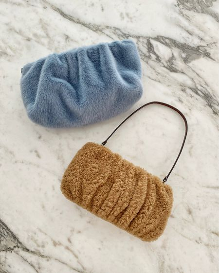 So obsessed with all the soft and cozy, warm and fuzzy accessories this season 🥰   #LTKHoliday #LTKSeasonal #LTKitbag