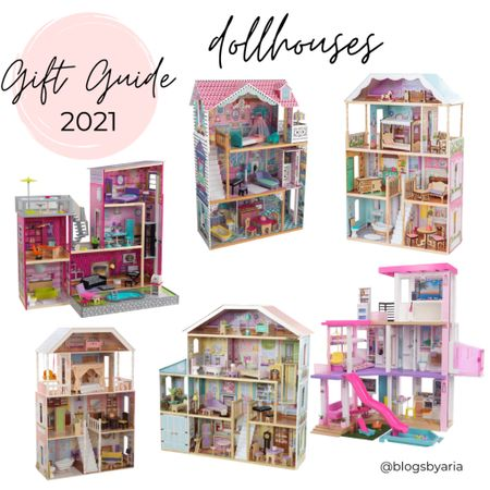 Dollhouses make the best gifts!! I remember getting my dollhouses as a kid and giving my daughter hers when she was little!!  Gift guide gifts for kids kids gift guide kids gift ideas   #LTKGiftGuide #LTKkids #LTKHoliday