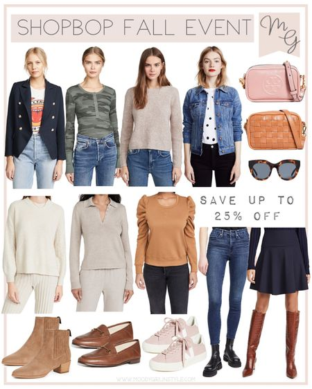 Shopbop Fall Style Event | The Fall Style Event - Save up to 25% off full-price styles with code STYLE • sale favorites, fall outfit, fall fashion, sweater, sneakers, vacation outfits, fall wardrobe, madewell, Vera sneakers, Tory Burch, #LTKsalealert #LTKunder100 #LTKworkwear   #LTKGiftGuide #LTKshoecrush #LTKstyletip