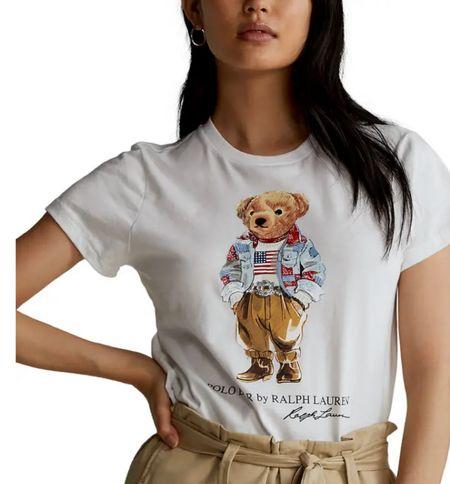 Ralph Lauren bear tee   . . . @liketoknow.it #discoverunder5k #stevemadden #strawhat #whitedress #ltkseasonal #competition #nordstrom #pinklilystyle #Destin #vacationspot #gucci #Louisvuitton #homedecor #bedroom #patiofurniture #casualstyle #beachvacation #sunset #summer  #LTKbeauty #LTKfit #LTKhome #LTKseasonal #LTKwedding #LTKitbag #sale #LTKshoecrush #AE #vacationoutfit #LTKswim #loft #jcrew #nike  #billabong #denim #sandal #katespade #goldengoose #lilypulitzer #mytexashouse #Burberry #homesweethome #Quay #rayban #sunglasses #jeans  #shop.ltk #rewardstyle #ltk   #LTKworkwear #LTKSeasonal #LTKhome