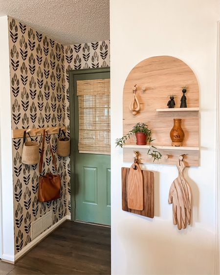 Small entryway and wallpaper http://liketk.it/3bPUa #liketkit @liketoknow.it #LTKhome @liketoknow.it.home