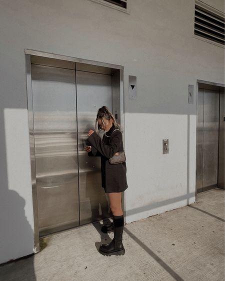 Blazer + boots // blazer and bag linked, boots are zara! http://liketk.it/36BJZ #liketkit @liketoknow.it