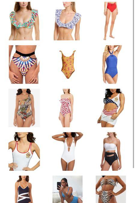 Swimsuits on sale Bathing suits One piece bathing suit Bikini Plus size bathing suit Swimsuits for curvy girls Beach vacation    #LTKswim #LTKtravel #LTKcurves