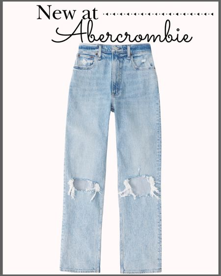 New arrivals at Abercrombie! 🍁  Fall dresses Midi dress Smocked dress Fall fashion Abercrombie dress Floral dress Family photos dress Family photos outfit 90's jeans Straight jeans Abercrombie jeans   #LTKstyletip #LTKsalealert #LTKunder100