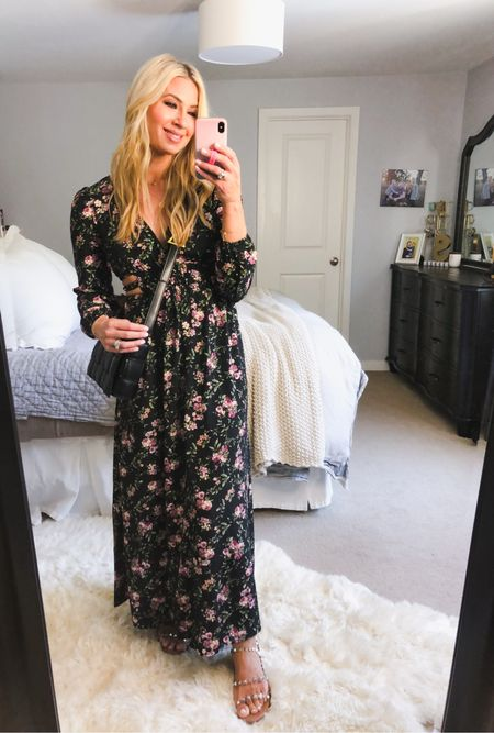 All Forever 21 dresses are 30% off for the next 48hrs! This one is perfect for family photos maxi dress tts   #LTKfamily #LTKSeasonal #LTKHoliday