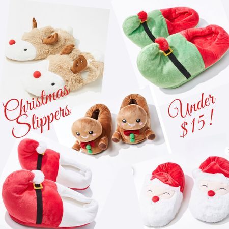 Cozy slippers for the holidays! 🎄❤️💚 These are so cute I couldn't pass it up! Which one is your favorite? Mine are the Gingerbread and reindeer slippers! http://liketk.it/31k3j #liketkit @liketoknow.it #LTKgiftspo #LTKunder50 #LTKstyletip @liketoknow.it.family