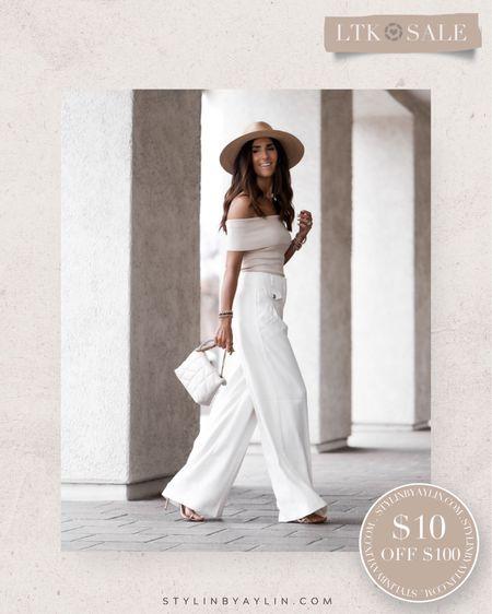LTK DAY SALE- $10 OFF $100- USE LINKS HERE TO RECEIVE SALE DISCOUNT CODE- summer outfits, summer neutrals, summer wardrobe staples, bodysuit, vacation outfits,  StylinbyAylin @liketoknow.it #liketkit http://liketk.it/3hhZi   #LTKDay #LTKsalealert #LTKunder50