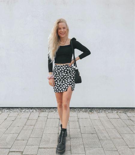 Favorite flower skirt + my Dr Martens  #LTKSeasonal #LTKeurope #LTKstyletip