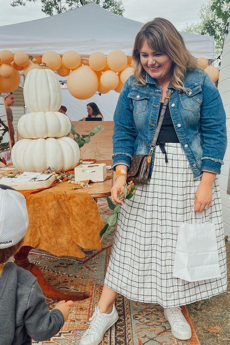 The perfect September skirt!   #LTKcurves #LTKstyletip #LTKSeasonal