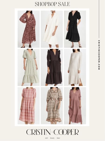 Shopbop sale // dresses   #LTKunder100 #LTKwedding #LTKsalealert