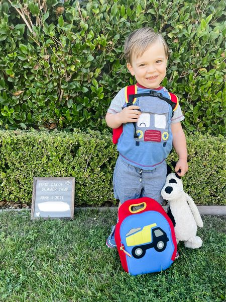 Love this matching monogrammed backpack and lunch pail from Dabbawalla and Maisonette!!!   #LTKbaby #LTKkids #LTKfamily