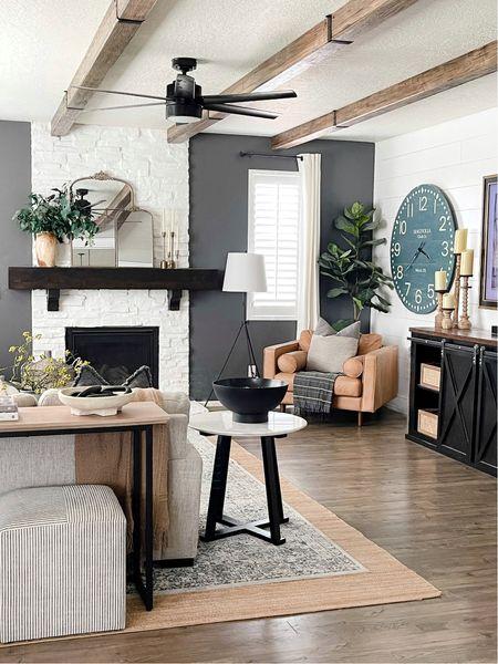 Modern Farmhouse Style Living Room  #LTKunder50 #LTKunder100 #LTKhome
