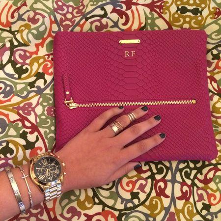 Getting my favorite hot pink @giginewyork clutch ready to be paired with my Fall picks! Shop the look here: www.liketk.it/miami #liketkit www.liketk.it/rNdW @liketkit #LTKCampusInfluencers