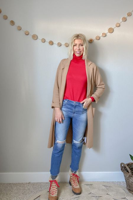 http://liketk.it/36YCd #liketkit @liketoknow.it  How to layer socks + cropped jeans + boots for winter. Stay warm but still look totally chic! #LTKshoecrush #LTKstyletip #LTKSeasonal