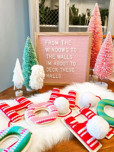 Okay so that's not totally true.... our halls have been decked for weeks now 🎄💕 Our main focus is finishing up our home projects (refer to last Sunday's stories) so we can relax through the rest of holiday season. Just kidding I'm sure I'll find some other project for us to get started on. When we're done I'll pull together a post with all of our budget hacks, but for now let's talk about holiday decor 🎅🏼🎅🏼🎅🏼 Below I'm sharing a couple super simple ways to inexpensively change your decor from season to season.   ✨ Use inexpensive pillow covers to change the color and texture of your pillows. By switching the pillow covers you not only save money, but storage space too since you won't be storing full pillows between seasons. I linked my favorite set from Amazon which I have in multiple colors. They are only $12.99 for two and are even pretty resilient when it comes to dog hair.   ✨ Swap out what is in your photo frames. I have a few nice frames that I use specifically for holiday decor. You can download festive digital prints from Etsy and swap them out depending on the season. Not only is this super affordable it also helps support the creators who you purchase the digital files from. (You know my fave is @amyscripts)  ✨Last thing isn't really a tip, but @target is always my favorite place to snag cute holiday decorations without breaking the bank. Plus their collections usually coordinate pretty well color wise year after year so you can keep things looking consistent as you add to your collection.   Screenshot this post to shop my favorite decor items via the @liketoknow.it app and let me know one of your decorating tips below 🤍❤️🤍❤️  . . . . . . . .  http://liketk.it/33du8 #liketkit #LTKhome #StayHomeWithLTK