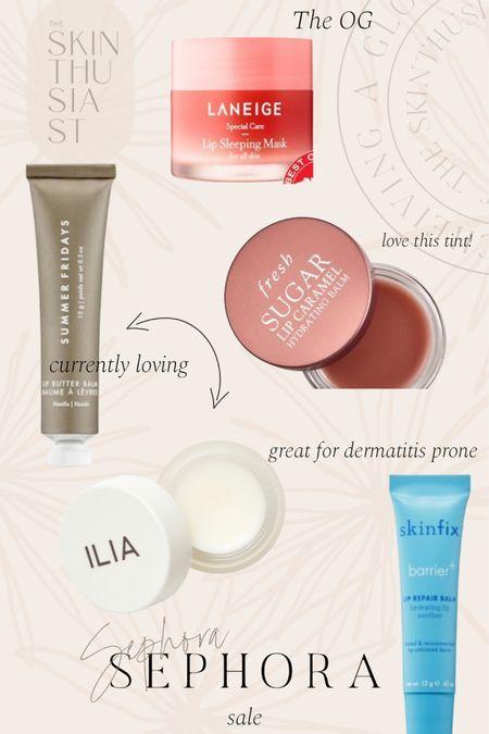 Sephora sale lip balms http://liketk.it/3d1OU #liketkit @liketoknow.it #LTKbeauty #LTKsalealert
