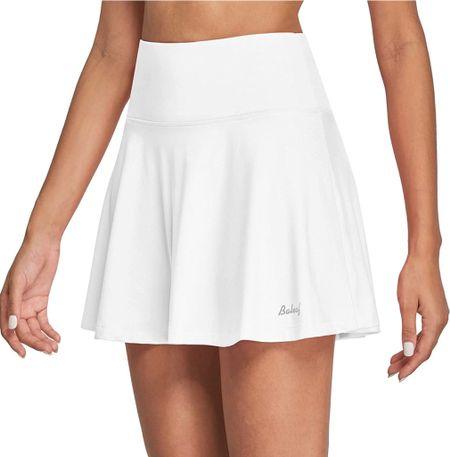 Amazon prime day deal. White tennis skirt. Affordable fashion. Leisure.  #LTKfit #LTKunder50 #LTKsalealert