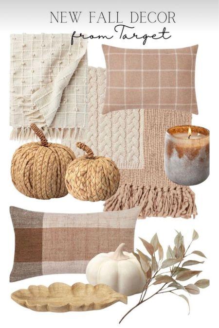 Neutral fall decor + target fall decor + Hearth and hand + autumn  #LTKSeasonal #LTKhome #LTKstyletip