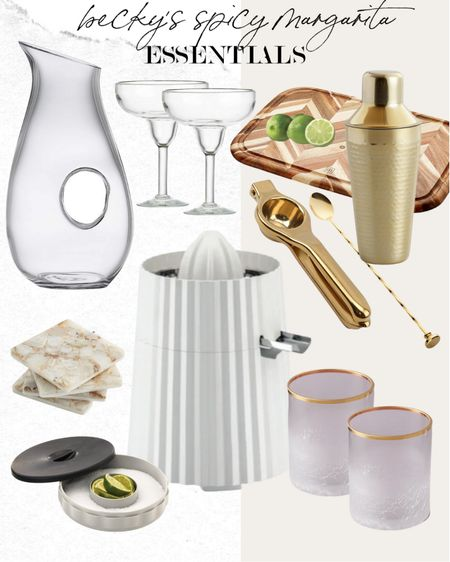 All the items I use to make my spicy marg  #LTKunder100 #LTKhome