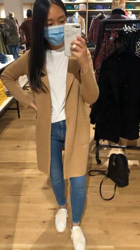 I took this cardigan in XXS. Cardmembers can use code CARDLOVE for an extra 20% off this month. This stacks with code GOBIG for 40% off right now (exclusions apply).   #LTKSeasonal #LTKunder100 #LTKGiftGuide