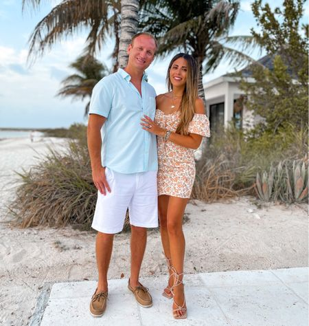 Vacation tropical summer outfits for him and for her     #LTKmens #LTKstyletip #LTKtravel