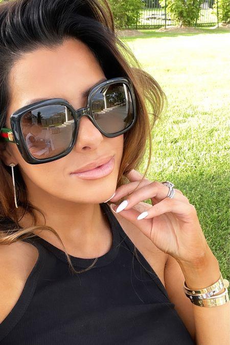 http://liketk.it/3gUPT #liketkit @liketoknow.it Gucci, lip combo, sunglasses, beach vacation outfits, summer outfits, Emily Ann Gemma