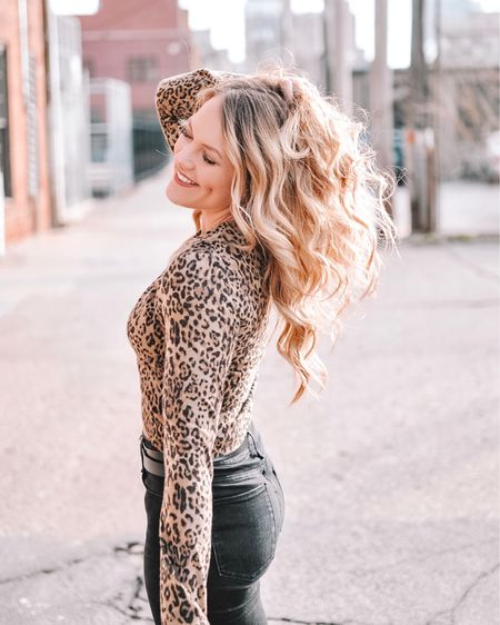 Queen of the jungle 🐆 or something like that! My leopard crop sweater is from Zara but I'm linking similar options. Shop your screenshot of this pic with the LIKEtoKNOW.it app @liketoknow.it #liketkit #LTKbeauty #LTKunder100 #LTKunder50 #LTKsalealert http://liketk.it/2zeJ0