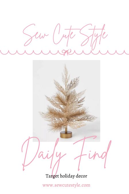 Some of the Target holiday decor has landed on their site! I am eyeing these pretty gold Christmas items.   #LTKHoliday #LTKSeasonal #LTKunder50