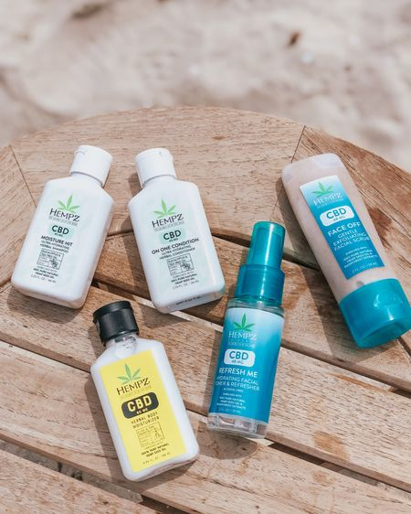 """Hempz, plz! 🌱      This """"First Class Fav's CBD Body & Hair Travel Kit"""" is the perfect set of minis to bring with you on vacation! 💚 It comes with a moisturizing shampoo and conditioner, body lotion, hydrating facial toner, and a gentle exfoliating facial scrub! ✨ You also get this travel friendly, clear sliding bag to store these products and more! ☀️      All of these products are THC Free, Gluten Free, Paraben Free, and Cruelty Free! 🌿     Hempz has been a go-to brand for me throughout the years! I also love their """"Triple Moisture: Herbal Whipped Body Cream"""" and the """"Milk and Honey Herbal Body Moisturizer"""" 🌼 I would love to know if you have any favorites from this brand! #gifted #ad  #skincare #skincaresaturday #hempz #hempzskincare #hempzbody #bodycare #haircare #hempzhaircare #hempzhair #travelessentials #travelsized #cbd #cbdskincare #cbdbody #cbdlotion #cbdbeauty #traveldiaries #microinfluencer #beautyblogger #bblogger #smallblogger #beautyreview #beautyreviewer #skincarereview #crueltyfree #crueltyfreeskincare #hempzcbd http://liketk.it/3dbcS #liketkit @liketoknow.it #LTKbeauty #LTKtravel #LTKunder50 Shop your screenshot of this pic with the LIKEtoKNOW.it shopping app Shop your screenshot of this pic with the LIKEtoKNOW.it shopping app"""
