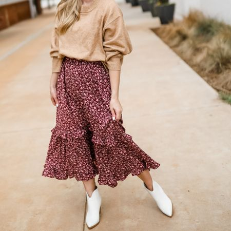Nordstrom sale white boots white booties affordable fall finds  #LTKunder100