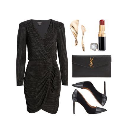 Black dress under $50 and heels under $100!    #LTKshoecrush #LTKunder50 #LTKsalealert