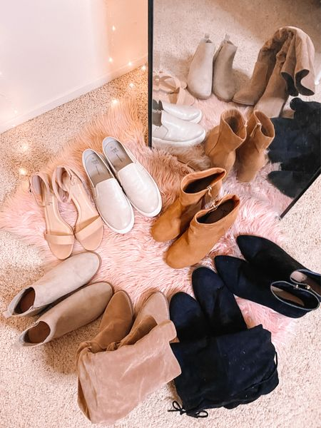 These shoes especially these boots have my heart! 👢🤎 Today on my YouTube channel, I'm sharing all the shoes that are on my fall shoe guide specifically the boots I'll be wearing on repeat for the season. 🍂 I talk about some new in pairs and some tried and true favorites I bring back out every year. ✨ I've linked the video in my bio and on Monday the full blog post will be up! 💻 I'd love to know what your favorite pair of shoes for fall is? 🤔 //   #LTKcurves #LTKshoecrush