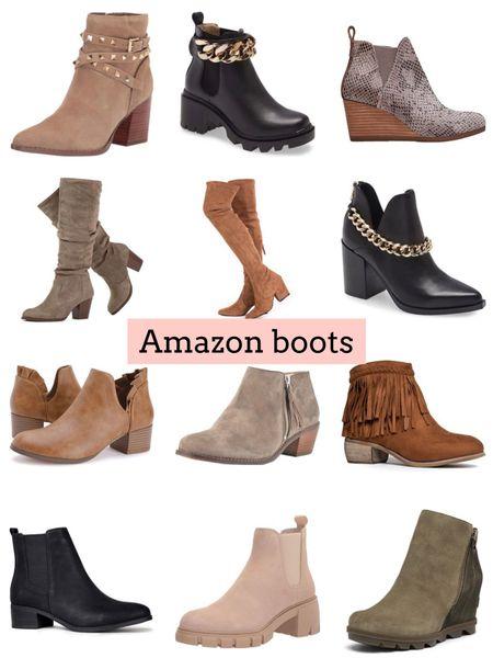 Boots   #LTKunder50 #LTKSeasonal #LTKshoecrush