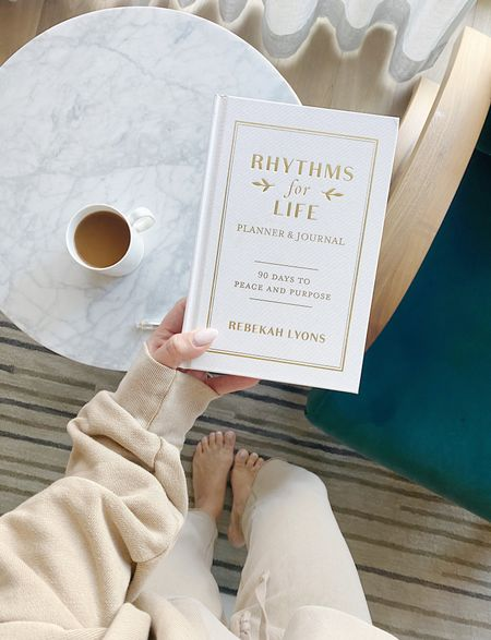 Love this book and planner to go with it! Emphasizes the importance of REST, RENEWAL, CONNECTION, and CREATE 🙏🏼 Goal planning, home, wellness  #LTKhome #LTKunder50