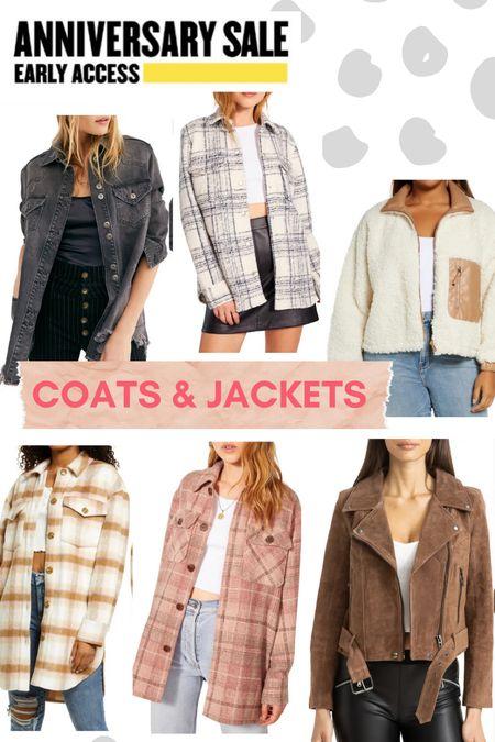 Nordstrom anniversary sale // coats and jackets  #LTKunder100 #LTKsalealert #LTKSeasonal