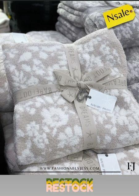 #nsale barefoot Dreams blanket restocked  Nordstrom anniversary sale   #LTKsalealert #LTKunder50 #LTKunder100