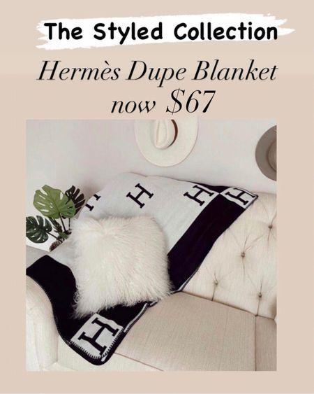 The Hermès dupe blanket is now $67 during the LTK Day Sale    #LTKhome #LTKsalealert #LTKDay  http://liketk.it/3huQW #liketkit @liketoknow.it